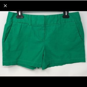 Loft green shorts